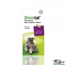 Drontal® Plus Flavour Bone Shape Tablets