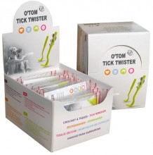 O'Tom Tick Twister Tick Remover for Cats, Dogs, Horses and Humans